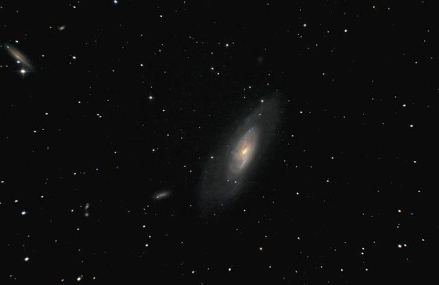 Messier 106 - Spiral Galaxy in Canes Venatici