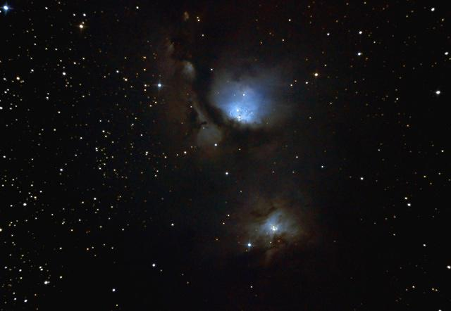 Messier 78 - Reflection Nebula in Orion
